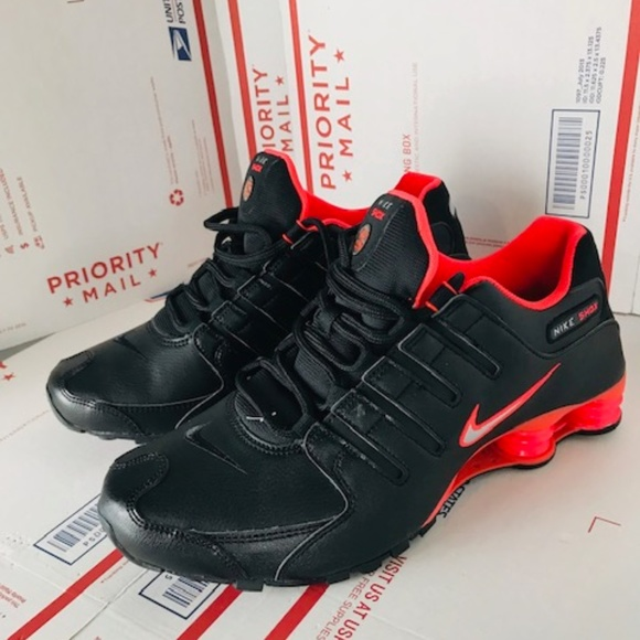 cheap for discount a1847 18856 ... Shoes Dark Grey Black NEW IN BOX  Nike Mens Shox NZ Running Trainers  378341-006 ...